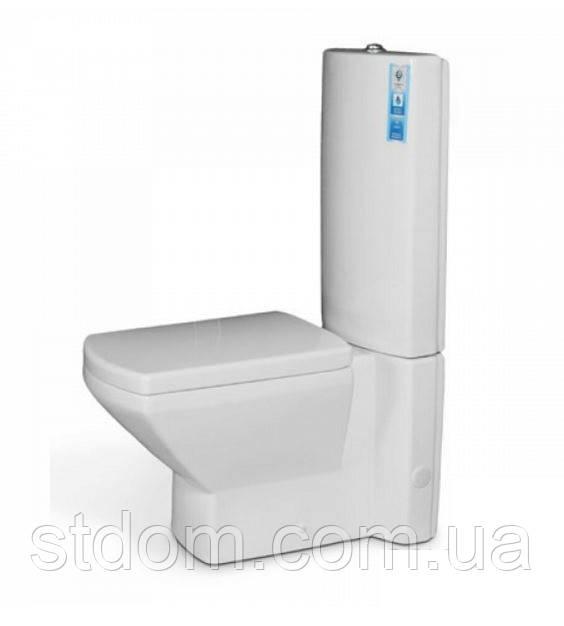 Унитаз напольный с сиденьем+бачок Aqua-World Pegas PS-0764+G005 СфПс.0764 белый