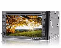 Автомобильная магнитола 261 HD, автомагнитола 2 дин, магнитола в машину 2 din, автомагнитола с экраном