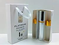 """Подарочный набор духи с феромонами """"Chanel Egoiste Platinum"""""""