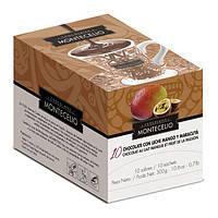 Молочний гарячий шоколад № 10 з маракуйей Montecelio, 300г