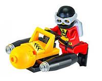 """Конструктор Brick """"Подводная техника"""" Подводный мотоцикл (25 деталей)"""