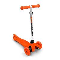 Самокат детский трехколесный Scooter Mini 466-112 оранжевый