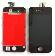 Дисплей (экран) для Apple iPhone 4S + с сенсором (тачскрином) черный Original