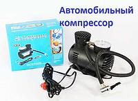 Автомобильный поршневой компрессор с манометром 12V/300PSI
