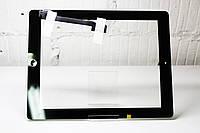Тачскрин (Сенсор дисплея) iPad 3/iPad 4 черный в сборе оригинал Китай