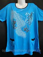 Больших размеров футболки для женщин., фото 1