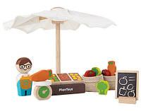 Деревянный игровой набор Plan Тoys Рынок (6613)