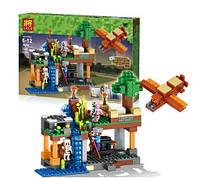 """Конструктор Lele Minecraft 79256 """"Воздушная гавань"""" 340 деталей"""
