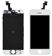 Дисплей (экран) для Apple iPhone 5S/SE + с сенсором (тачскрином) белый Original