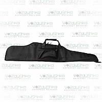 Оружейный чехол для винтовки с оптикой длиной до 115 см, черный, ПВХ пропитка, фото 1