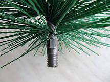 Ершик для чистки дымохода ф300 мм пластиковый под резьбу, фото 2
