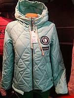 Стильная женская демисезонная куртка  РАЗМЕР 42\44\46