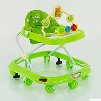 Детские музыкальные ходунки модель 258 (зеленый), фото 1