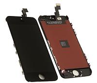 Дисплей (экран) для Apple iPhone 5C + с сенсором (тачскрином) черный Original