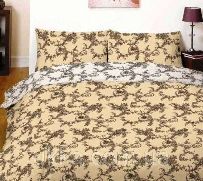 Двухспальное постельное белье Вилюта 12131 Ранфорс платинум