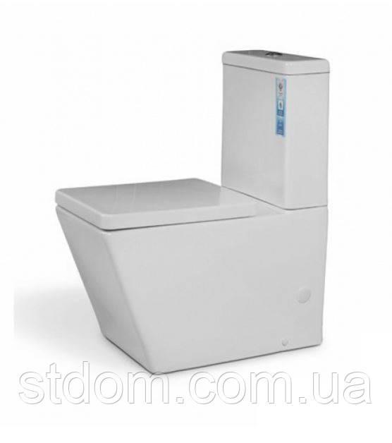 Унитаз напольный с сиденьем+бачок Aqua-World Principial PR-1799+G-006 СфПр.1799 белый