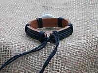 Кожаный браслет ЗНАКИ -   на руку, ручная работа
