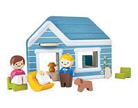 Деревянный игровой набор Plan Тoys Дом (6617)
