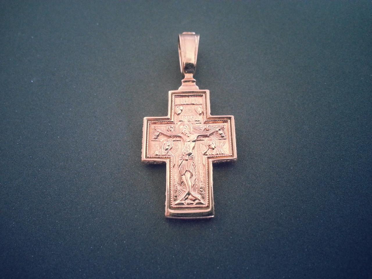 Золотой Нательный Крест арт. Кр 25