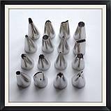 Набор кондитерских насадок (16 шт), фото 3