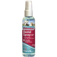 SENTRY Petrodex Dental Spray СЕНТРИ ПЕТРОДЕКС ДЕНТАЛ СПРЕЙ от зубного налета для собак и кошек, 118 мл