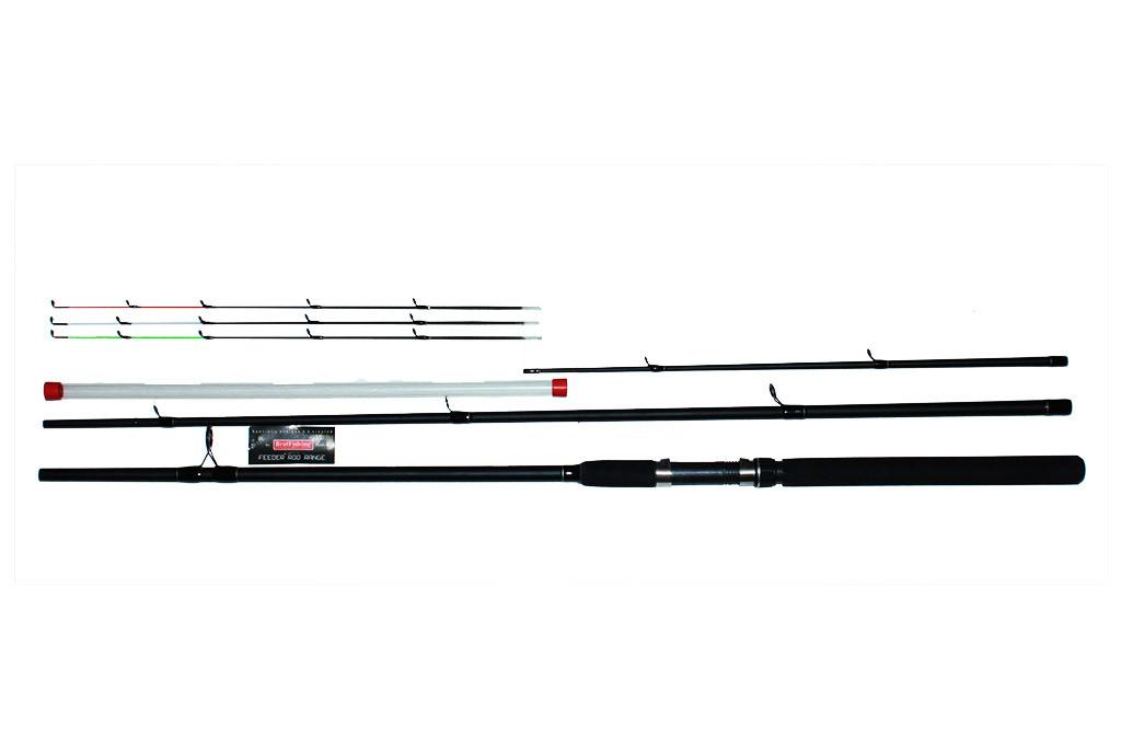 """Фидерное удилище""""Bratfishing Excalibur Feeder"""" 3.3m. (Тест: до 120г.)"""