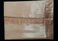 Скатерть атласная с бахромой цвета в ассортименте