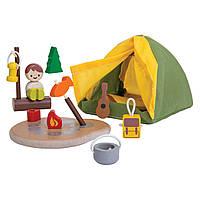 Деревянный игровой набор Plan Тoys Туристический набор (6624)