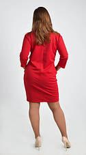 Привлекательное платье большого размера размеры 44,46,54, фото 3