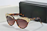 Солнцезащитные очки Dsquared лео со стразами