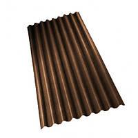 Ондулин лист коричневый (2,00*0,95) 1,9 м.кв