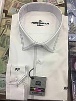 Мужская рубашка приталенная 2 выточки Pierre Pasolini