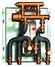 Проточная станция приготовления горячей воды LogoVital, 35 кВт до 12 л/м Meibes