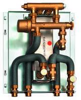 Проточна станція приготування гарячої води LogoVital, 35 кВт до 12 л/м Meibes
