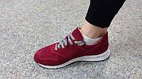 Кроссовки женские замшевые / Women's sneakers chamois
