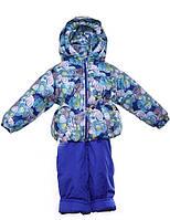 """Демисезонный костюм """"Кроха с кепкой"""" для мальчика (Синяя галактика)"""