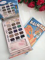 Палетка теней The Balm Balmsai 18 цветов + трафареты для коррекции бровей