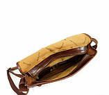 Шкіряна сумка під А4 чоловіча, фото 4