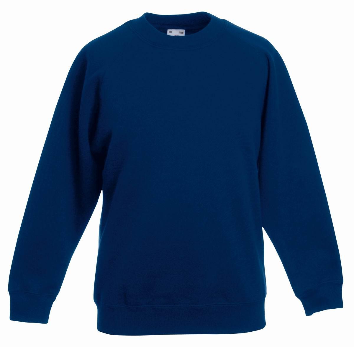 Толстовка детская Classic Kids Raglan Sweat, рост 128 (7-8лет), Тёмно-синий
