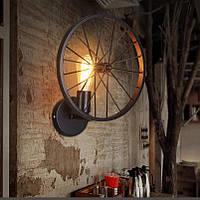 Настенно-потолочный светильник [ Loft Wheel ] колесо