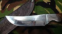 Охотничий нож  Украинского производства  +кожаные ножны