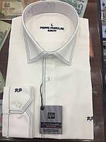 Рубашка Мужская приталенная 2 выточки  Pierre Pasolini