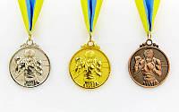 Медаль на ленте Бокс  5 см, 28 г