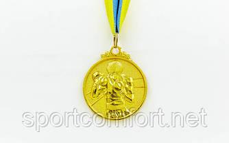 Медаль на стрічці Бокс 5 см (1, 2 , 3 місце)