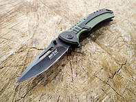 Нож складной из нержавеющей стали ,карманного типа рукоять из пластика G-10