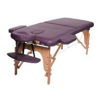 Массажный стол складной Classic Maroon Purple, Life Gear