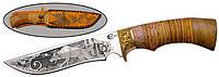 Нож с фиксированным клинком Русский Витязь Галеон, ручная работа