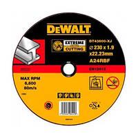 Круг отрезной по металлу 230x22.2х1.9мм DeWALT DT43600 (США/Польша)