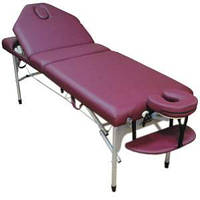 Массажный стол складной Elite burgundy Life Gear