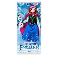 Кукла Принцесса Анна  Дисней и Снеговик Олаф Холодное сердце